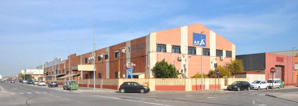 Plant of Aleaciones Estampadas S.A. - AESA Forging and machining lightweight alloys