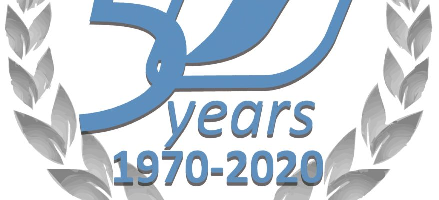 Logo AESA 50th aniversary