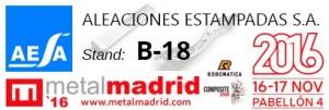 ALEACIONES ESTAMPADAS - AESA METALMADRID 2016