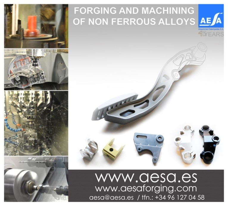 Stand Aleaciones Estampadas S.A. - AESA in Metalmadrid 2015 Industrial Show Forging for Automotive