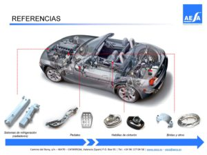 Aluminium forging parts for Automotive