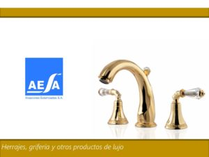 AESA_2018_Introduction Luxury products