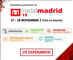Participación AESA en Feria MetalMadrid 2019